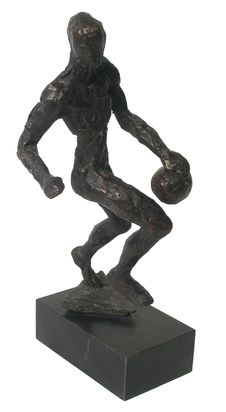 Free Basket Ball Bronze Statue Royalty Free Stock Photo - 4782505
