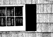 Free B&W Window Stock Images - 4782754