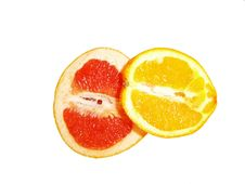 Free Orange And Grapefruit Royalty Free Stock Photos - 4783358