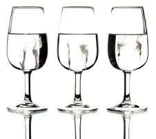 Free Three Glasses Royalty Free Stock Images - 4783579