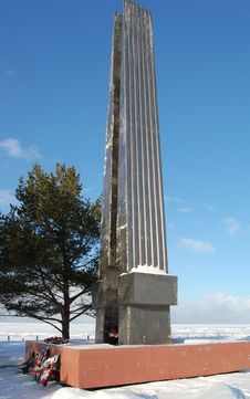 Free Monument On Coast Of White Sea Royalty Free Stock Images - 4783659