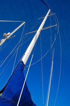 Free Sailboat Mast Royalty Free Stock Image - 4783996