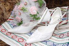 Free Wedding Shoes Royalty Free Stock Images - 4784089