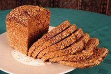 Free Freshly Baked Sliced Wholegrain Bread Stock Photo - 4784240