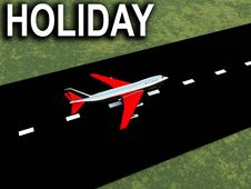 Free Plane With Runway 6 Royalty Free Stock Images - 4784419