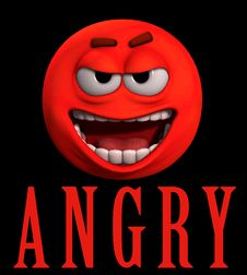 Free Angry Word Royalty Free Stock Images - 4784489