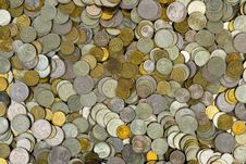 Free Coins Background Stock Photo - 4784670