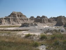 Free The Badlands Royalty Free Stock Photo - 4785035