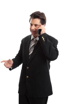Free Business Executive On The Phone Stock Photography - 4785262