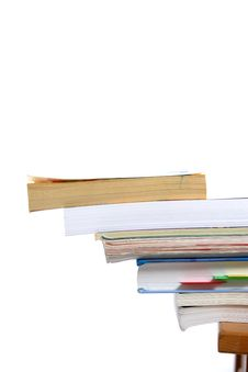 Free Stack Of Books Stock Photography - 4786642