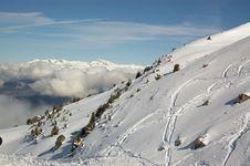 Free Winter High Mounatins Royalty Free Stock Photos - 4787428