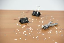 Free A Hole Punch Royalty Free Stock Photography - 4788037