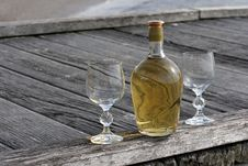 Free Wine On The Boardwalk Royalty Free Stock Photo - 4788295
