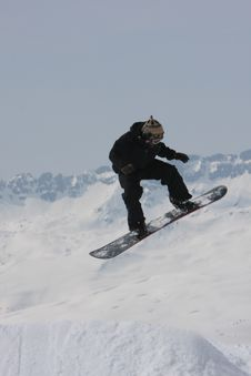 Free Snow Boarder Royalty Free Stock Photos - 4788638