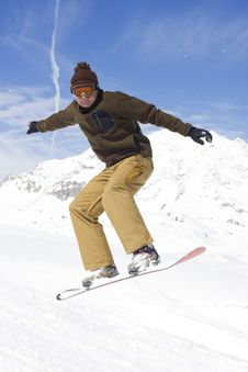 Free Snowboarder Stock Photography - 4788702