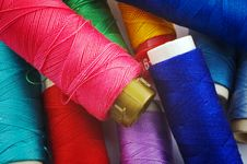 Free Colored Threads Royalty Free Stock Photo - 4788845