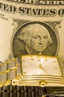 Free Time Money Royalty Free Stock Photo - 4789665