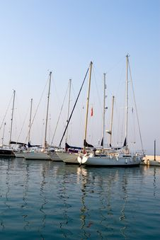 Free Yachts In Port Royalty Free Stock Photos - 4789708