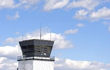 Free Control Tower In Clouds Stock Photo - 4789830