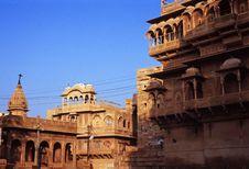 Jaisalmer Haveli Royalty Free Stock Images