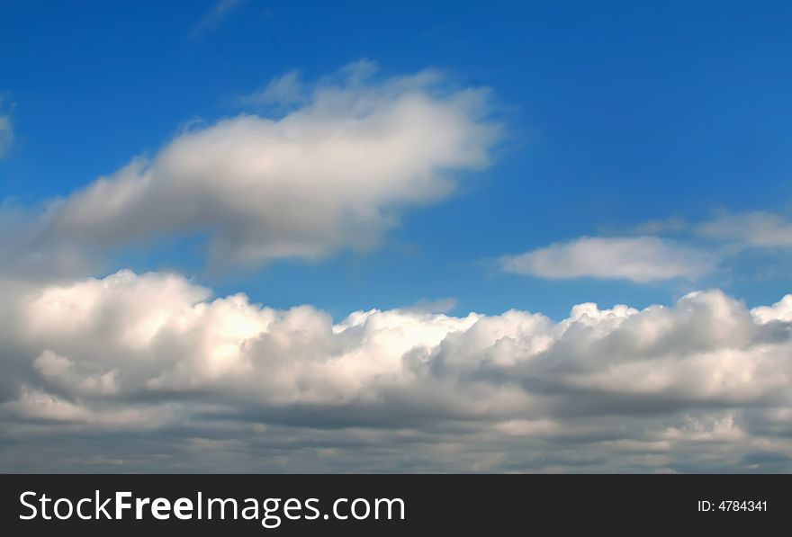 Series-image of the cloudy sky