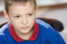 Free Thinking Boy Stock Image - 4791601