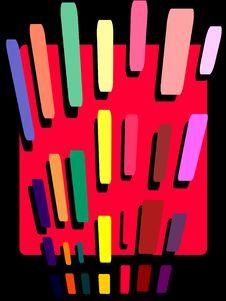 Free Pencil Stroke Abstract Royalty Free Stock Photo - 4793065