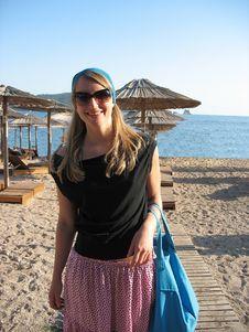 Free Beach Woman Royalty Free Stock Photos - 4794108