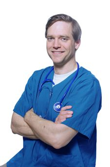 Free Handsome Doctor Smiling With Arms Crossed Royalty Free Stock Image - 4794146
