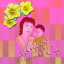Free Happy Mothers Day 2 Stock Photo - 4794280