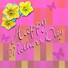 Free Happy Mothers Day 4 Stock Photography - 4794362