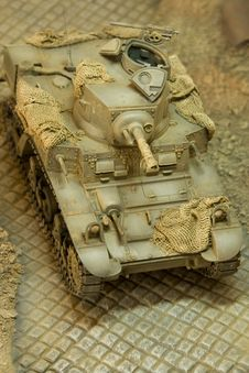 US WWII Light Tank Stuart III M3AI 4 Royalty Free Stock Photos