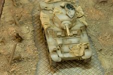US WWII Light Tank Stuart III M3AI Stock Image