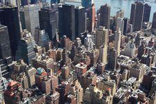 Free Manhattan Skyline Stock Photography - 4795572