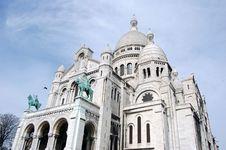 Free Basilica Of The Sacré Coeur Royalty Free Stock Photography - 4796117