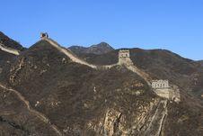 Free Great Wall Of China Ruins Stock Image - 4796231