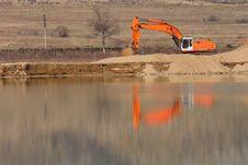 Free Orange Digger Stock Photography - 4796512