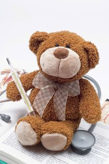 Free Teddy Bear As A Doctor Stock Photography - 4796532