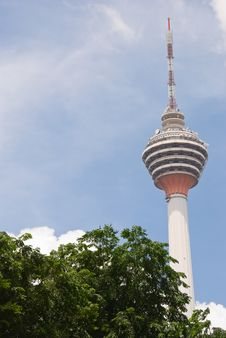 Menara Tower, Kuala Lumpur, Malaysia Royalty Free Stock Photography