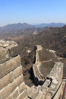 Free Great Wall Of China Ruins Stock Photos - 4796793