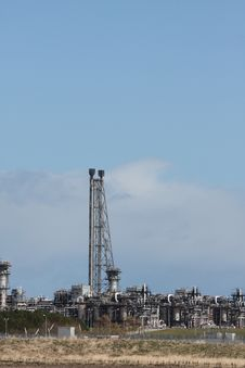 Free St Fergus Gas Terminal/Refinery Royalty Free Stock Images - 4796909