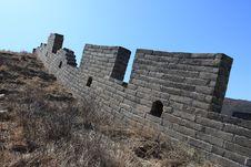 Free Great Wall Of China Ruins Royalty Free Stock Photo - 4796925