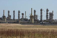 Free St Fergus Gas Terminal/Refinery Royalty Free Stock Photography - 4797007