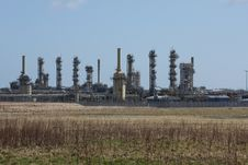 Free St Fergus Gas Terminal/Refinery Stock Photos - 4797243