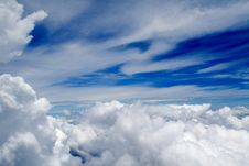 Free Clouds - View From Flight 112 Royalty Free Stock Photo - 4797445