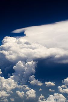 Free Clouds - View From Flight 123 Stock Photography - 4797592