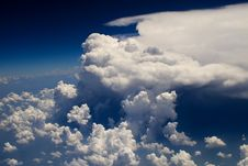 Free Clouds - View From Flight 125 Stock Image - 4797641