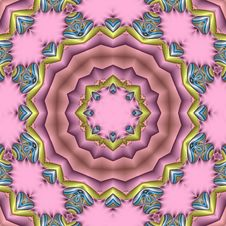 Pastel Pink Mandala Stock Photo