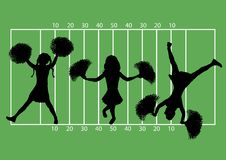 Free Cheerleaders Football 5 Royalty Free Stock Photos - 4797748