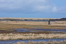 Free The Tower At Strathbeg Loch Stock Photography - 4798062